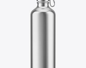 3D Steel Water Bottle
