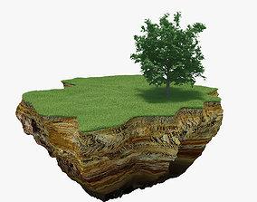 3D model Green Peace Island 01