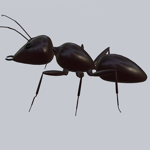 Ant - Low poly