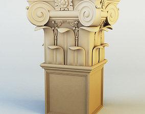 zurel Column capital 3D