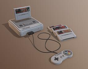 3D asset Super Nintendo EU