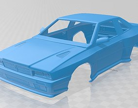 Maserati Shamal 1990 Printable Body Car