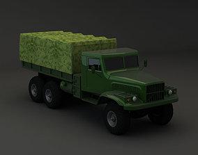 Truck KRAZ 255 B 3D model