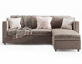 Barrett Reversible Sectional Sofa 3D