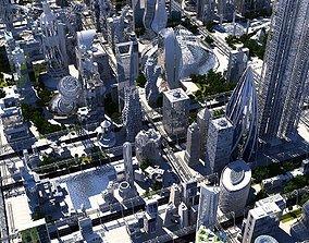 3D Future City HD 20 V 2
