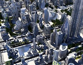 Future City HD 20 V 2 3D model