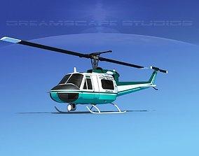Bell 204 Jensen 3D
