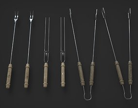3D asset Barbecue Toolkit PBR