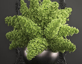 3D bouquet of green lilacs in a vase 94