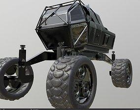 mars rover planet explorer 3D model