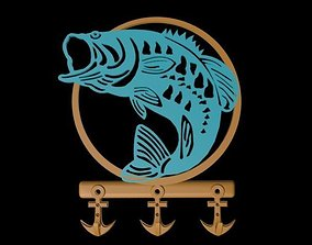 Hanger FISH 3D