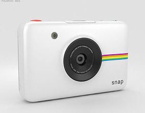 3D electronics Polaroid Snap Instant Digital Camera White