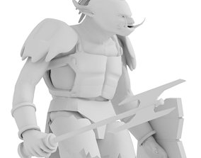 Dungeons and Dragons Minis Troll Warlord 3D model