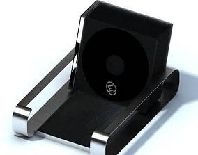 Black Card Holder 3D model