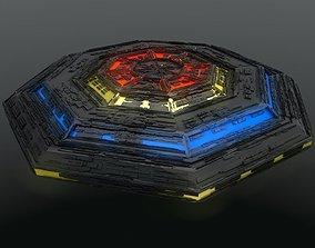 3D UFO The Creeper