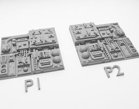 Star Wars Death Star Tile Type P 3D printable model