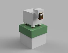 Cool clip box-Sheep 3D print model lamb