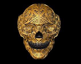3D print model skeleton ring jewellery