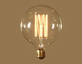 Globe Light Bulb 3D model