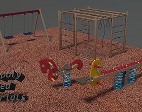 Playground asset 3D model