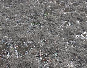 3D model Dirt Terrain PBR Pack 13 gravel