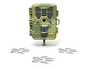 3D Wildlife Trail Camera