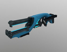 3D asset Alien Lazer Rifle