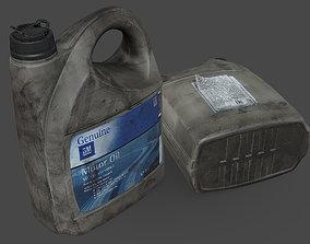 Motor Oil Canister 3D model