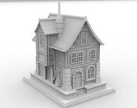 House Low Poly 3D model low-poly