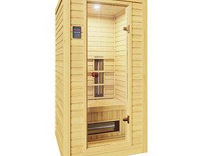 Infrared Sauna Cabin 3D