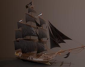 3D model realtime Ocean Brig