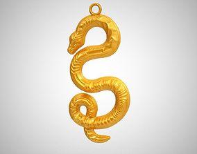 Snake Necklace 3D printable model