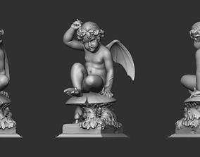 Baby Wings Sculpture 3D printable model