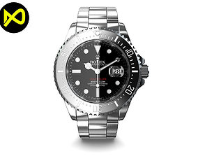 Rolex Sea-Dweller Watch 2017 3D
