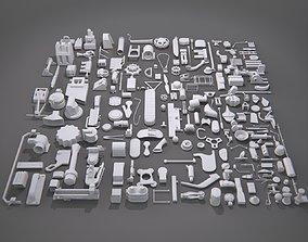3D model Kitbash-6