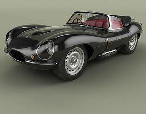 Jaguar XKSS 3D