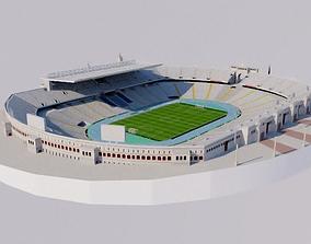Estadi Olimpic Lluis Companys - Barcelona 3D asset