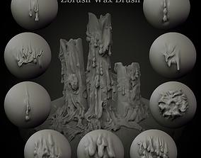 3D model Wax Brush