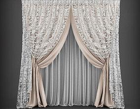 Curtain 3D model 5