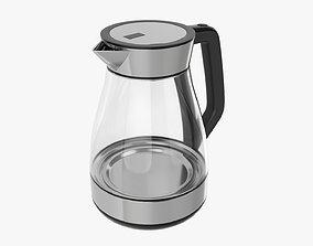 Modern electric kettle 03 3D model