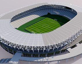 Ajinomoto Stadium - Tokyo 3D soccer