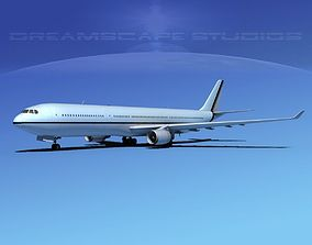 3D model Airbus A330-300 Corporate 4