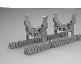 3D model machine generator sci fi