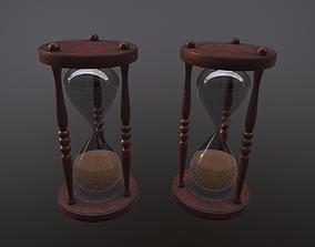 Sand clock 3D asset