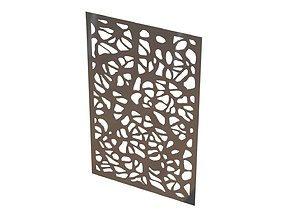 Shrub wall picture 3D printable model