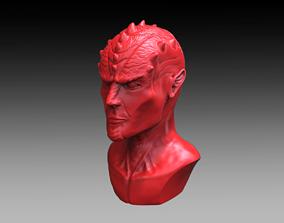 3D print model Demon Bust