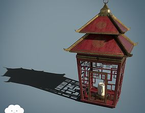 Chinese Lantern Game Ready Asset PBR 3D model