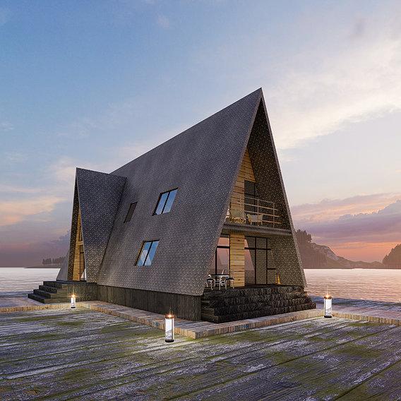modren house