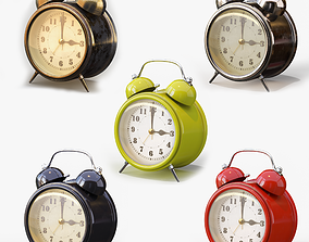 Old Alarm Clock 3D model VR / AR ready