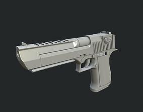 Desert Eagle D-50 3D model